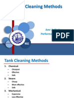 Tank Cleaning Methods