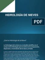 Hidrologia de Nival