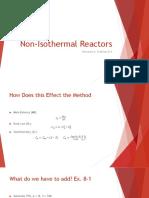 10.31 Reactors Lecture-Non-Isothermal Reactors