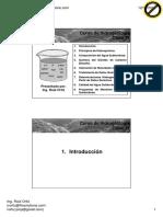 Clase 11 - Hidroquímica y Programas de Muestreo