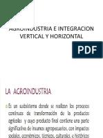 Agroindustria e Integracion Vertical y Horizontal