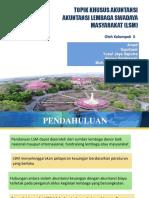 PPT Kelompok II Akuntansi Topik Khusus LSM