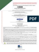 CRI AMBEV - Minuta Do Prospecto Preliminar