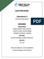 Informe de Lab 4 Electricidad 1 1