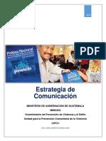 Estrategia de Comunicación para la UPCV