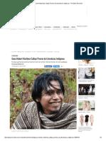 Gana Hubert Martínez Calleja Premio de Literaturas Indígenas - Periódico Noroeste