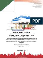 43 Memoria Descriptiva Arq Proyecto