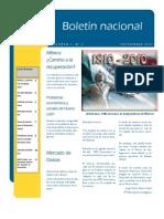 Boletín Nacional Agosto 2010