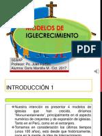 CUATRO MODELOS DE MEGA IGLESIAS