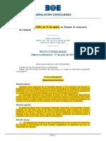 T 02 Estatuto de Autonomía Canarias LO 10-1982 Modificada Por LO 4-1996 de 30 de Diciebre