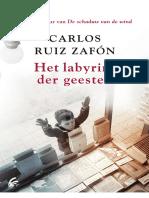 Carlos Ruiz Zafón-Het Labyrint Der Geesten