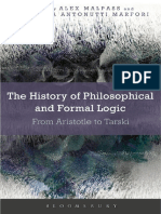 2017 the History of Philosophical and Formal Logic From Aristotle to Tarski