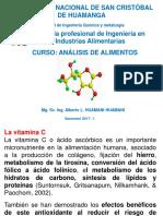 Analisis de Vitamina c en Alimentos
