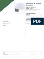 Resorte de Lamina-SimulationXpress Study-1
