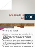 Analisis de Datos y Tabulacion