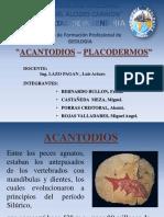ACANTODIOS PLACODERMOS