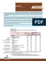 11 Informe Tecnico n11 Produccion Nacional Setiembre2017
