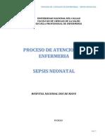 Pae Sepsis Neonatal