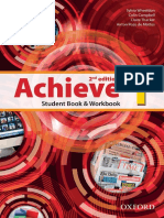 Achieve 1 Student Book Workbook 2nd Full