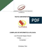 Texto Compilado de Informática Aplicada
