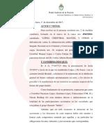 Cristóbal López no puede vender el Grupo Indalo