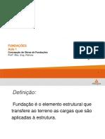 Fundações Aula 1 - Concepção de Obras de Fundações (2)