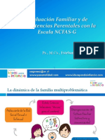 Ppt Evaluación Familiar y Competencias Parentales, NCFAS-G