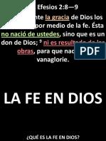 003 La Fe en DiosPPT