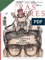 Portada e índice Letras Libres México / España, diciembre 2017
