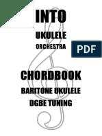 Baritone Ukulele Chord Book