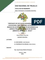 Mori Berrú, Julio Eduardo, Rodriguez Solorzano, Antecedentes Oscar Limpieza Publica.........................................
