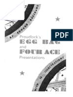 Bagshawe's - Proudlock's Egg Bag and Four Race Presentations