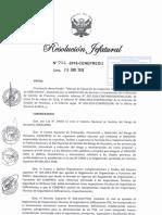 Resolución Jefatural N°066-2016-CENEPRED