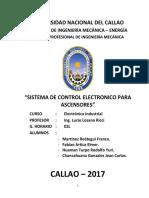 Trabajo - Electronica Industrial