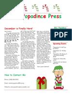 newsletter 12-1-17