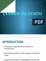 [4] Examen du genou - Pr Boutayeb.pdf