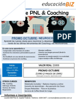 Flyer Seminario PNL Oct 2017 Neurocoaching