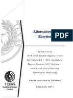 Alternatives to Abortion Report 2017