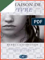 Rebecca Donovan - Ma Raison de Vivre-eBook-Gratuit