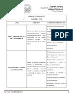 Líneas de Investigación - Ingeniería Civil