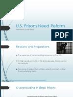 us prison reforms  no video