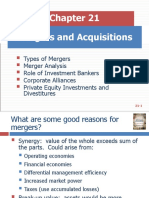 8. Mergers and Acquisitions