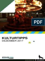 KulturTipps Dezember 2017