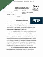 Statement of Offense, Michael Flynn Sr.