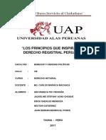Monografia Derecho Registral Chikimon Yo Te Eligo Xd