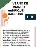 Governo de Fernando Henrique Cardoso
