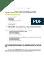 Pérez, A (2016) Orientaciones en El Diseño de Un Proyecto de Tesis