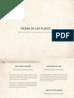 Libro Piedra de Los Platos