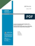 NF P94-151