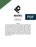 Monetisation analysis / research